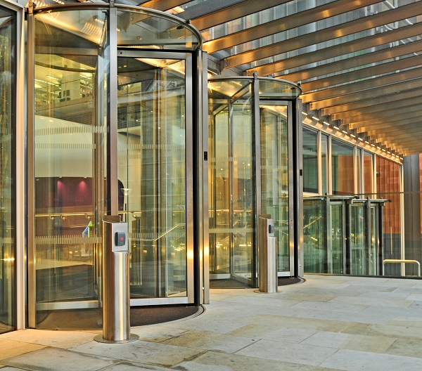 Boon Edam provides secure and stylish entry solution