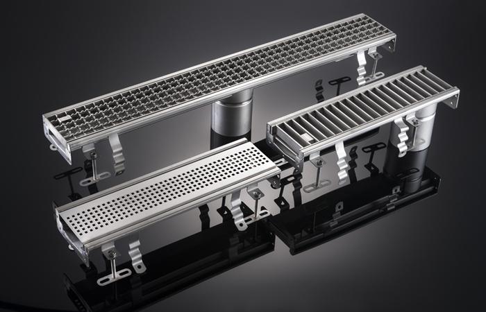 New Harmer Modular 120 Stainless Steel Channels