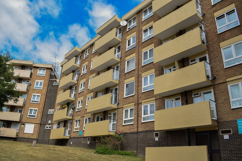 Sika reinforces failing residential buildings