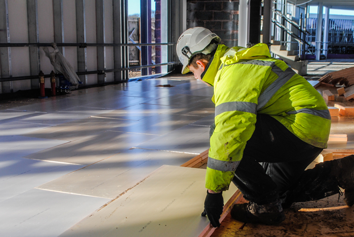 Sundolitt high performance XPS insulation specified at the University of Hull