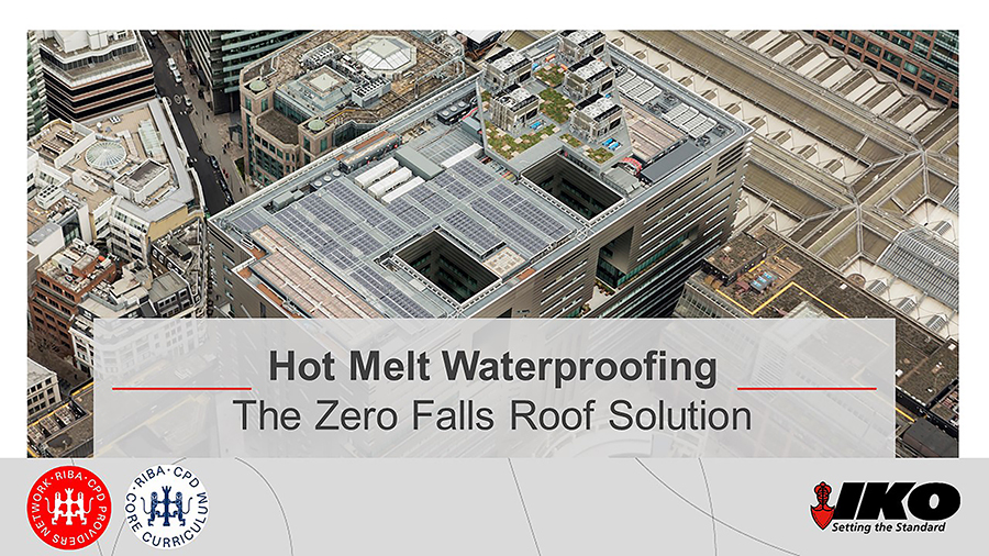 New Hot Melt Waterproofing CPD from IKO