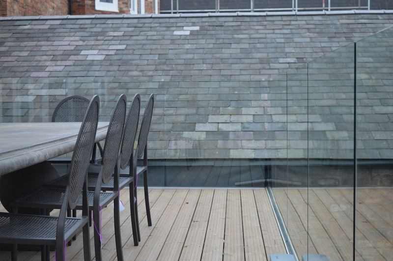 Laidlaw balustrades can transform your balcony or terrace