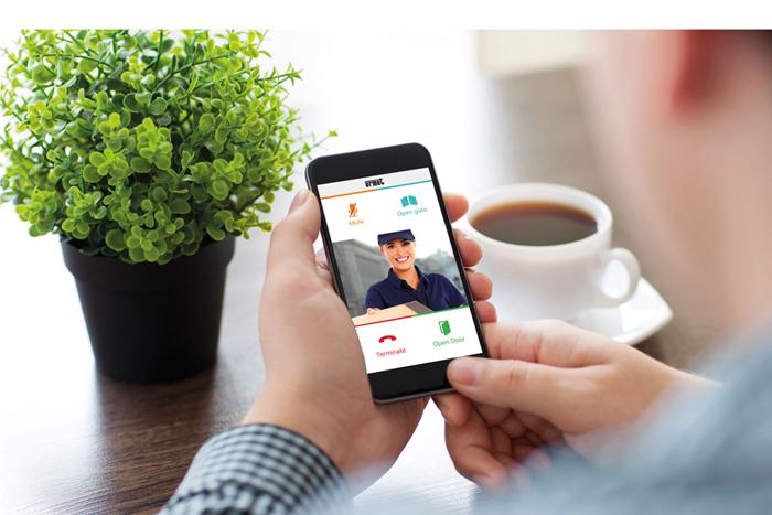 Always at home with Urmet's CallMe app