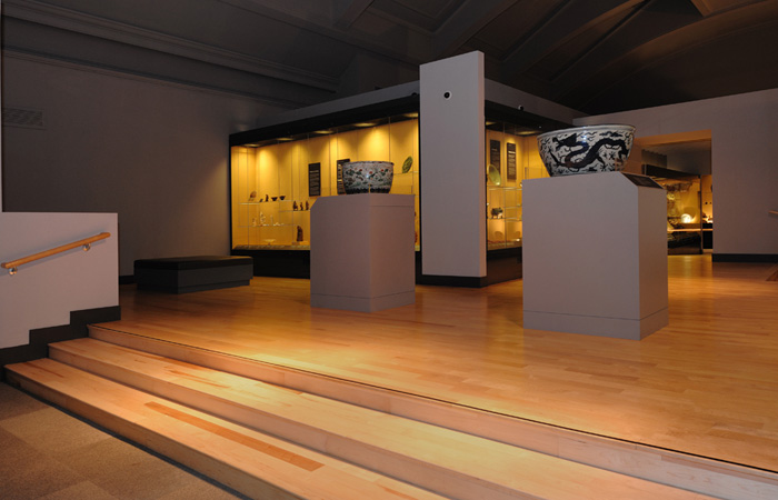 Atkinson & Kirby keep in with the character of the Museum of Scotland