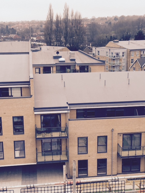 Sika-trocal's effective, easy-to- install roofing system ensures rapid delivery of waterside development