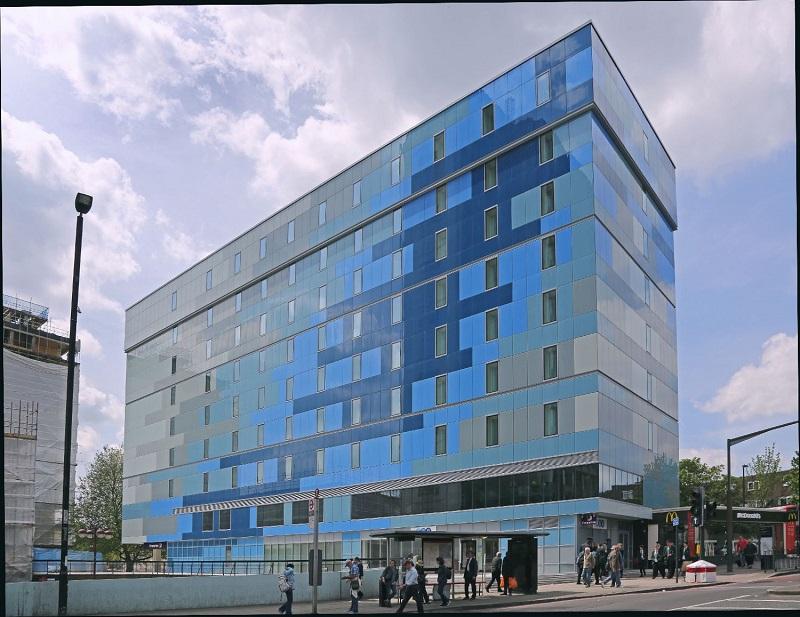 Glass facade solution for new hotel development