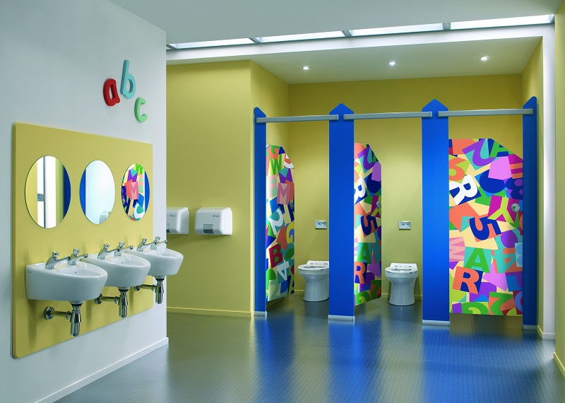 Washroom design goes back to school