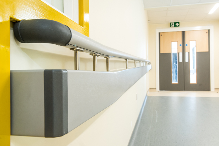 Investment in new wards at County Hospital Stafford protected by Yeoman Shield