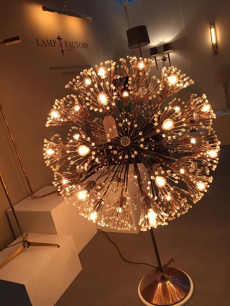 Inspirational new 2017 collection of hand-made lamps launched at SLEEP event