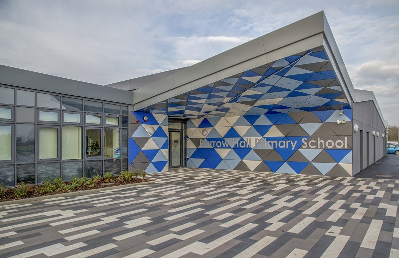 Formica brings a vibrant identity to a school