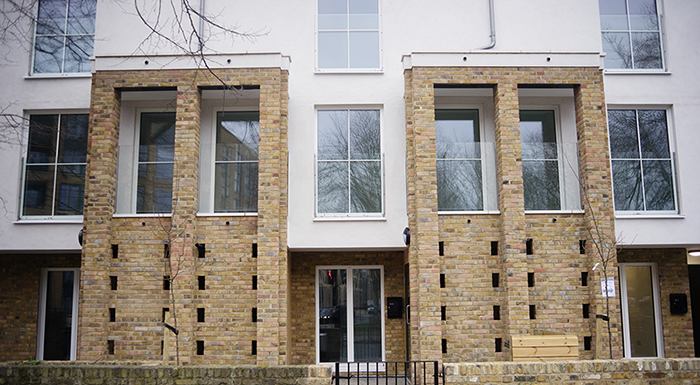 Lambeth Council completes three Passivhaus certified houses with the PH15 timber frame system