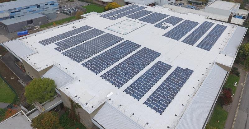 Bauder delivers largest solar array in higher education sector