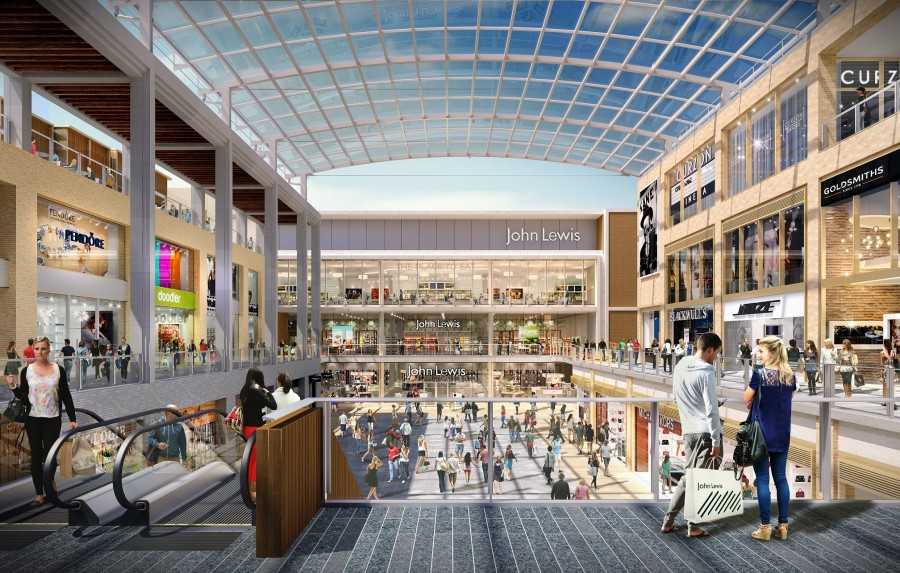 Sika Makes It A Watertight Case For £440 Million Revamped Shopping Centre
